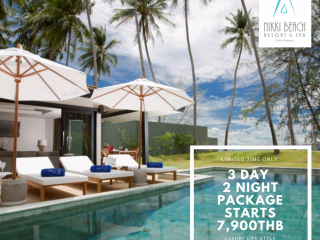 Nikki Beach Resort & Spa Koh Samui I Package 3 วัน 2 คืน