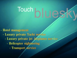 Touch bluesky