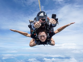 Skydive Thailand (Package Tandem Skydive + Gold Camera Package)