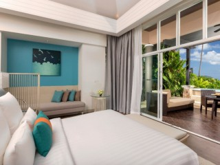 Pullman Phuket Panwa Beach Resort  ห้อง Pool Villa Sea View, ภูเก็ต